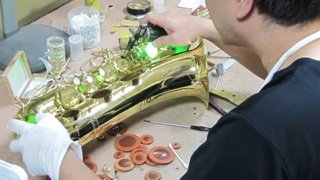 クランポンクラリネット修理 管楽器修理